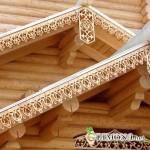Кружевные узоры из дерева в оформлении дома и загородного участка