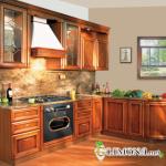 Вековые традиции в новом исполнении: фасадные кухонные элементы из дерева