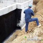 Гидроизоляция фундаментов здания