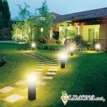 Садовые и парковые светильники в обустройстве территории загородного дома