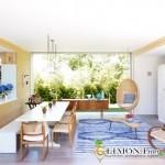 Обеденные зоны и столы для дачной кухни