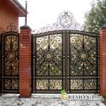 Выбираем кованые ворота