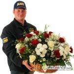 Цветы с доставкой преодолевают любые расстояния
