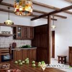 Ремонт кухни: дизайн интерьера в стиле кантри