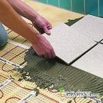 Клей для напольной плитки - чем руководствоваться при выборе