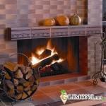 Какой керамической плиткой облицевать каминную или печную поверхность