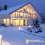 Плюсы и минусы покупки коттеджа зимой