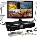 Оснащение систем охранного видеонаблюдения
